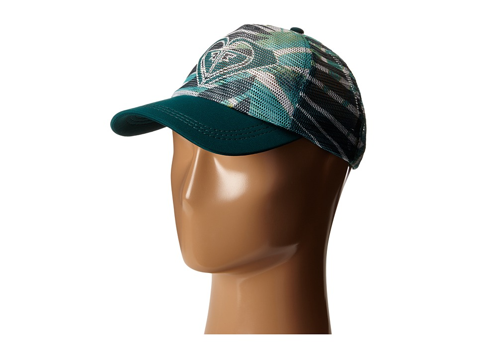 Roxy - Your Baby Trucker Hat (Jungle Fever Large Scale Sea Spray) Caps