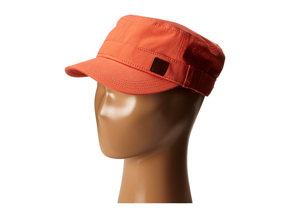 Roxy - Castro Military Cap (Living Coral) Caps