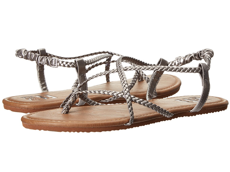 Billabong - Crossing Over (Silver) Women's Sandals