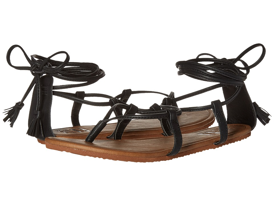 Billabong - Around the Sun Sandal (Off Black) Women's Sandals