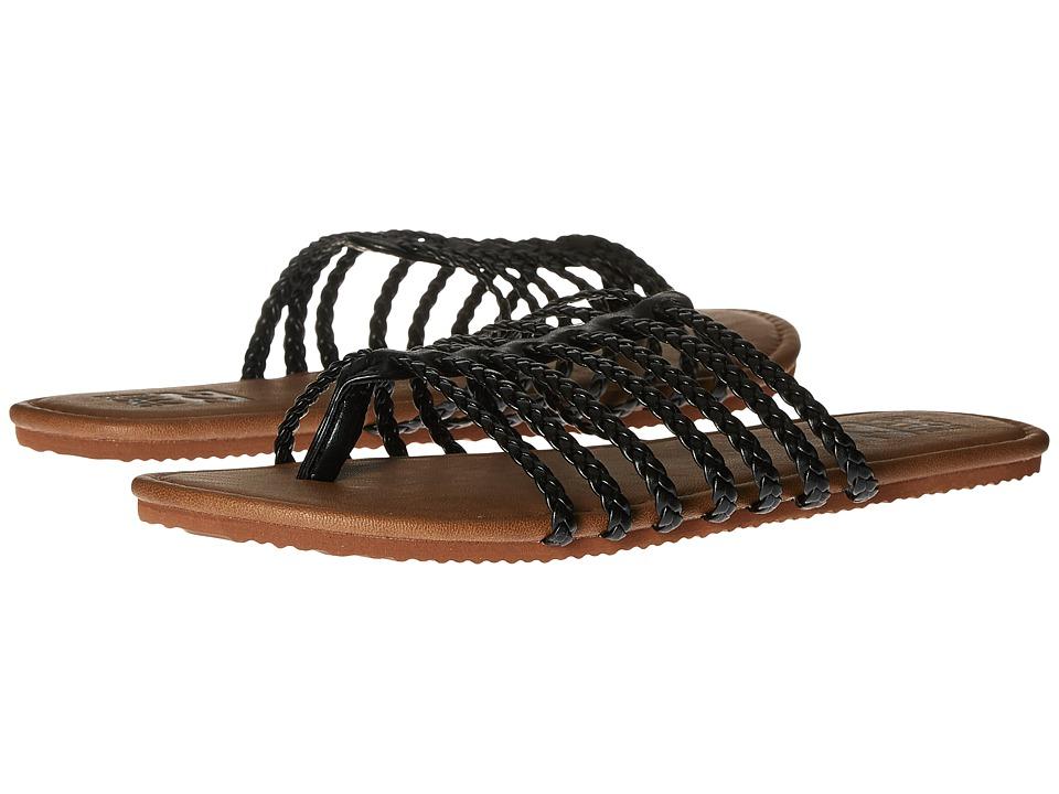 Billabong - Beach Braidz Sandal (Off Black) Women's Sandals