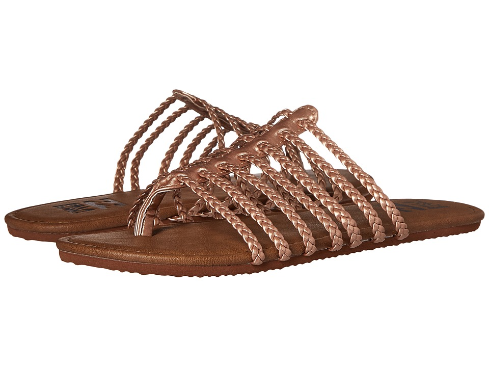 Billabong Beach Braidz Sandal (Rose Gold Multi) Women