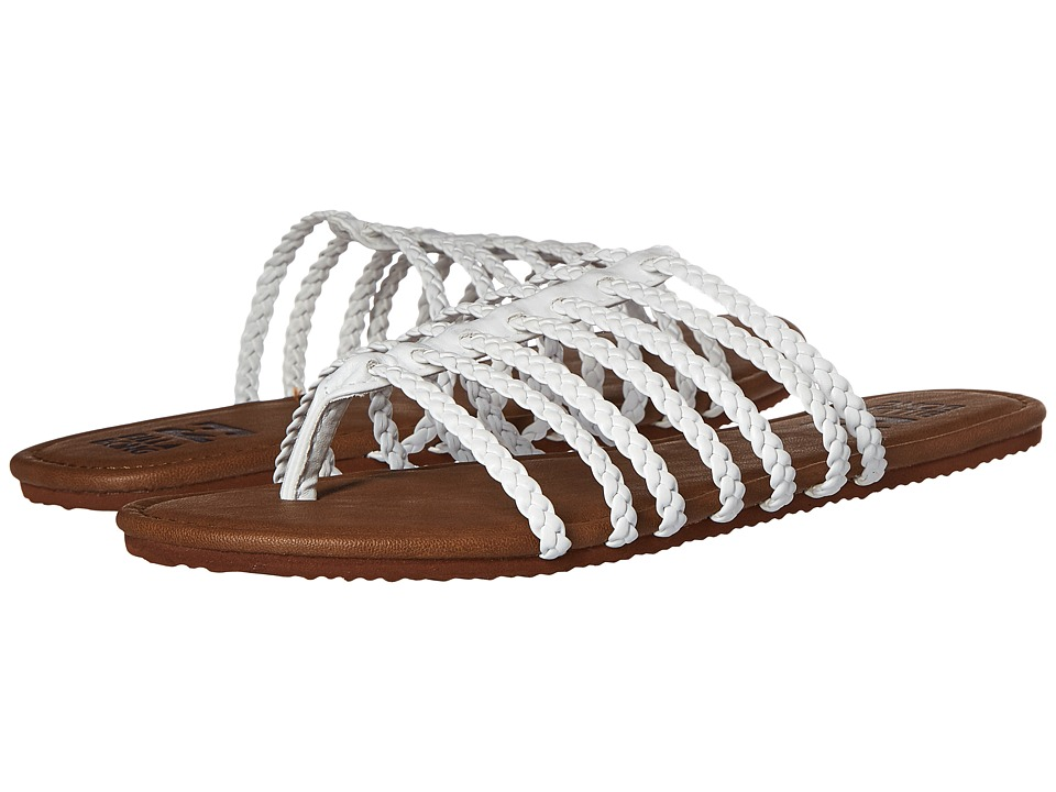 Billabong - Beach Braidz Sandal (White) Women's Sandals