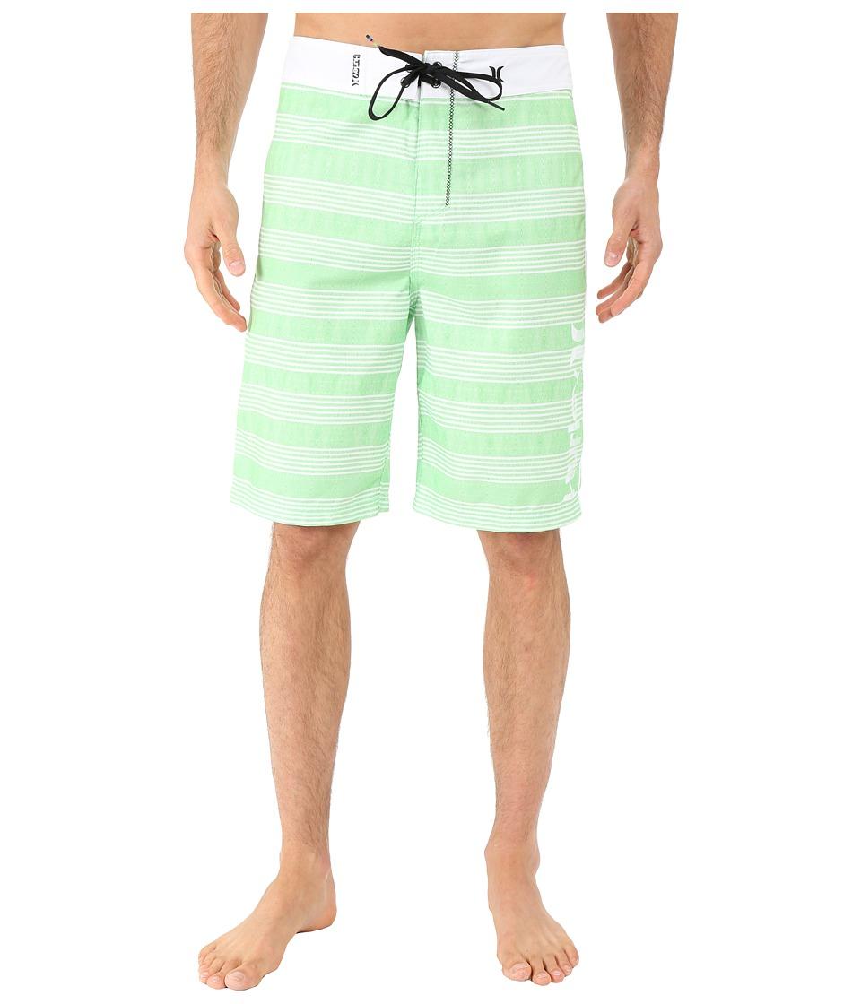 Hurley - Sunset 22 Boardshorts (Neon Green) Men's Swimwear