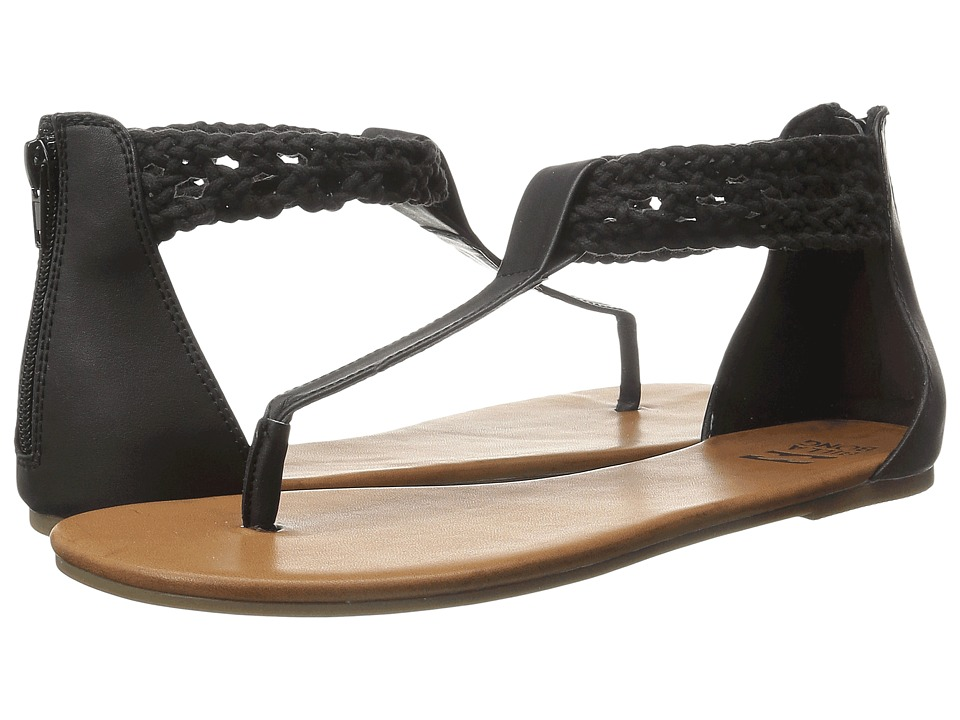 Billabong - Sand Wanderer Sandal (Off Black) Women's Sandals