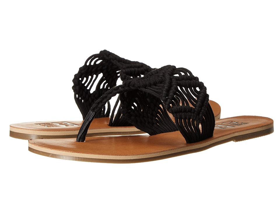 Billabong - Setting Free Sandal (Off Black) Women's Toe Open Shoes