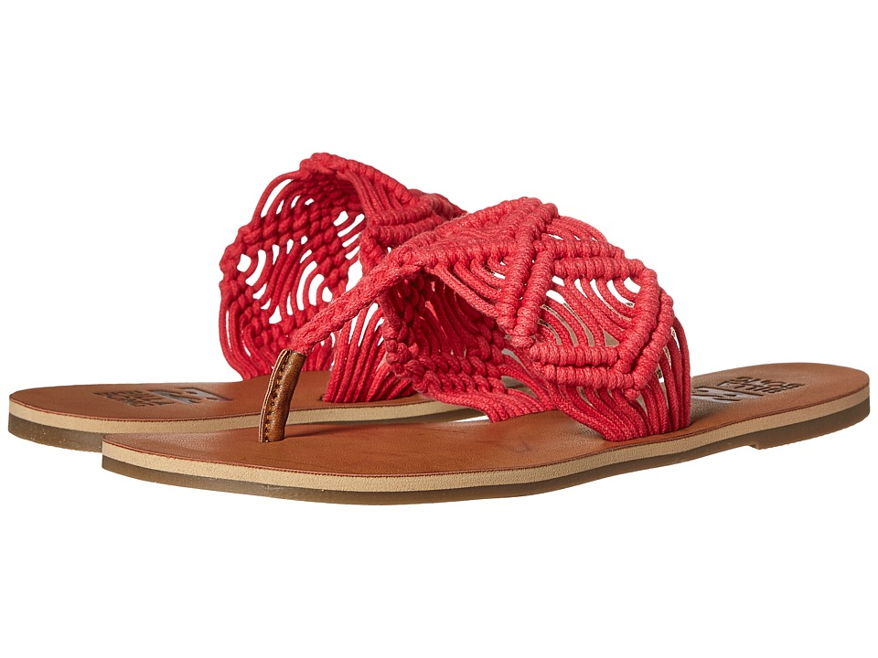 Billabong - Setting Free Sandal (Wild Berry) Women's Toe Open Shoes