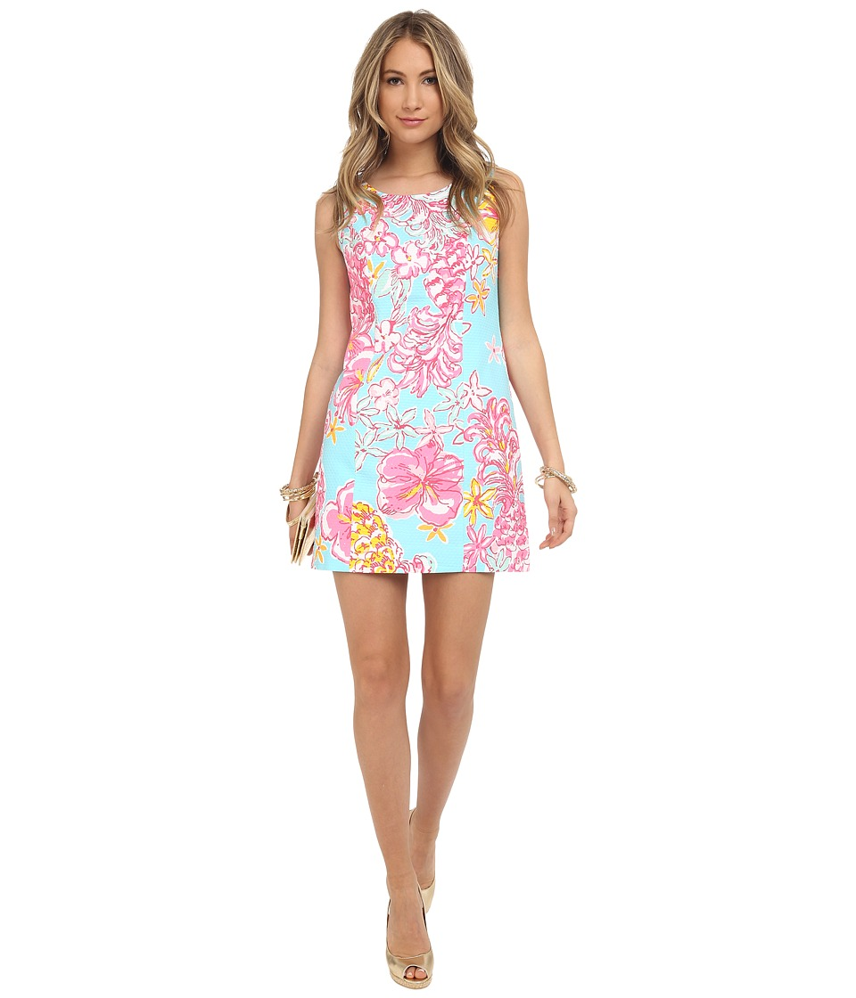 Lilly Pulitzer - Cathy Shift Dress (Breakwater Blue Lolita) Women's Dress