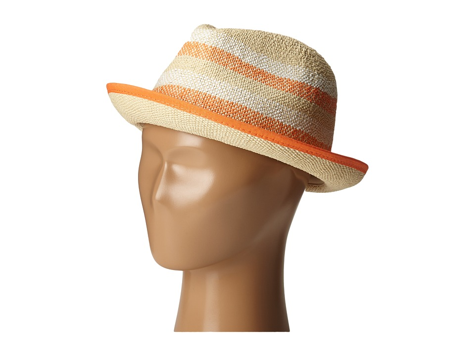 Roxy - Big Swell Stripe Fedora (Lark) Fedora Hats