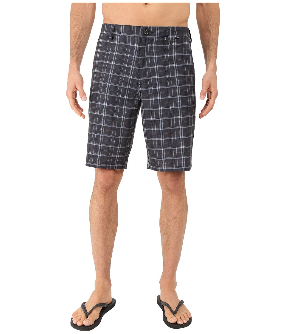 Hurley - Phantom Davis Walkshorts (Black) Men's Shorts