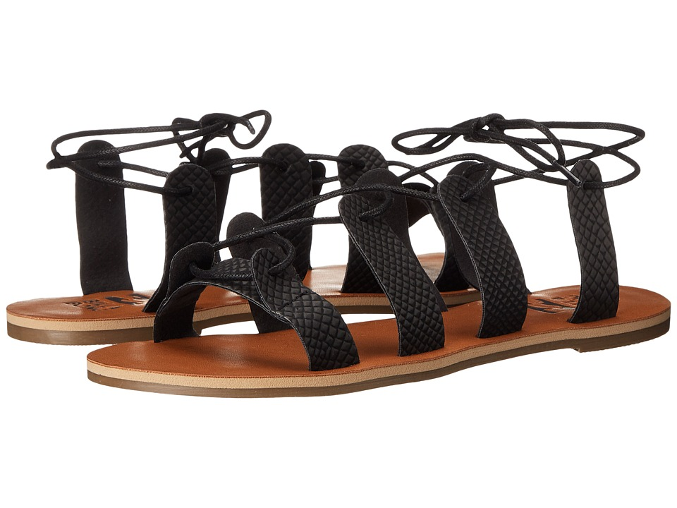 Billabong - Beach Brigade Sandal (Off Black) Women's Sandals