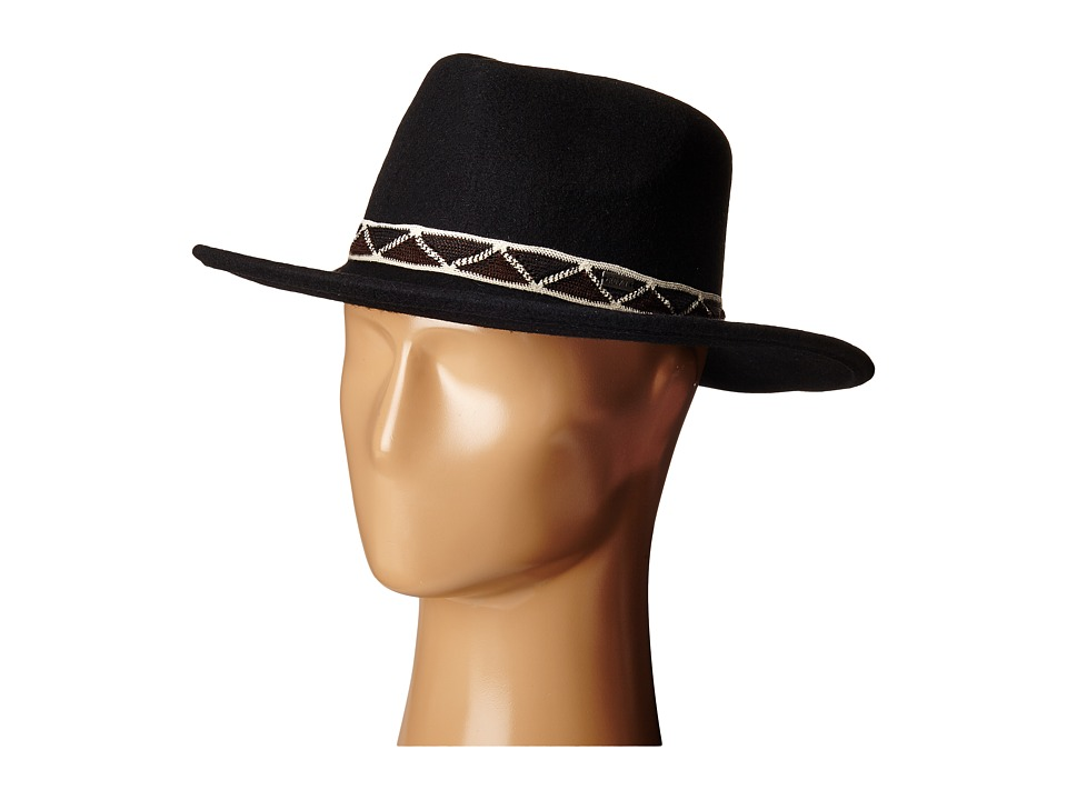 Roxy My Coco Fedora (True Black) Dress Hats