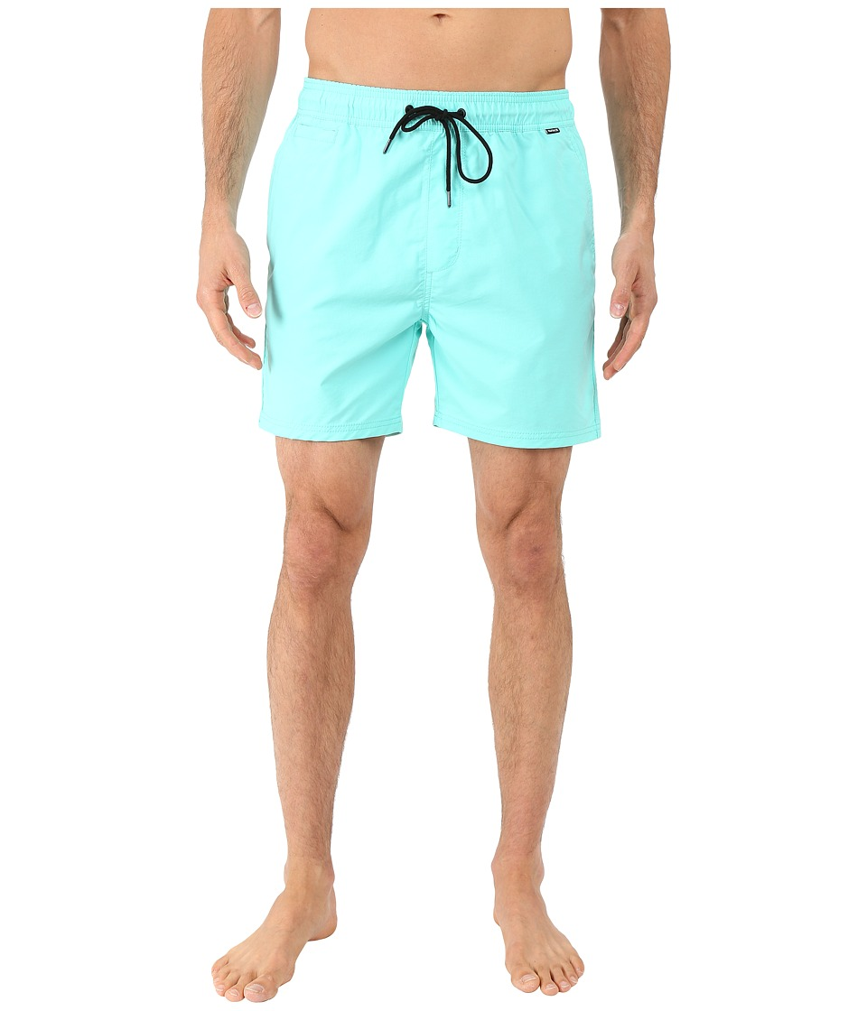 Hurley - Dri-Fit One and Only Volley (Hyper Turquoise) Men's Swimwear