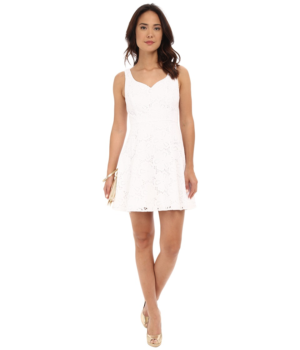 Lilly Pulitzer - Marla Dress (Resort White Dotted Blossom) Women's Dress