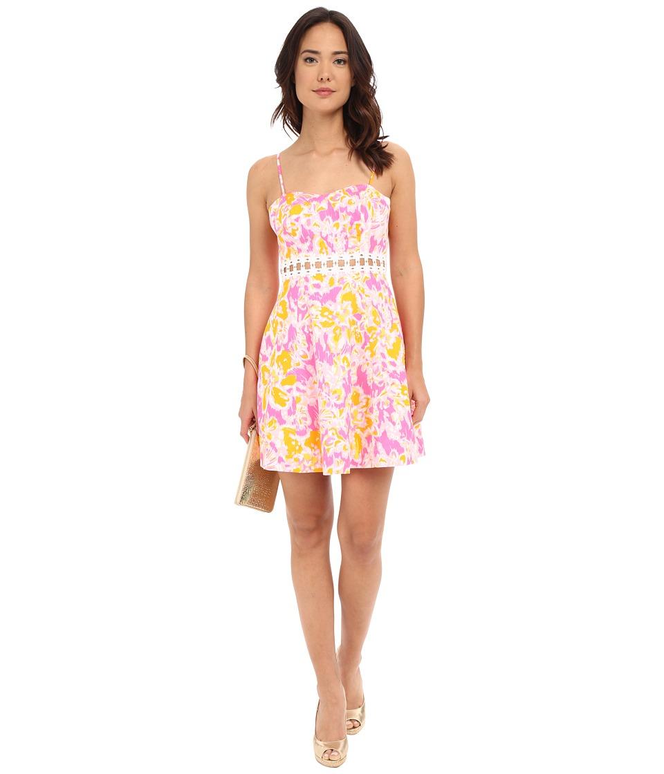Lilly Pulitzer - Lenore Dress (Kir Royal Pink Ooh La La) Women's Dress