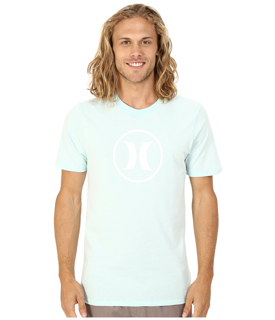 Hurley Circle Icon Dri-Fit Tee (Bermuda Green) Men