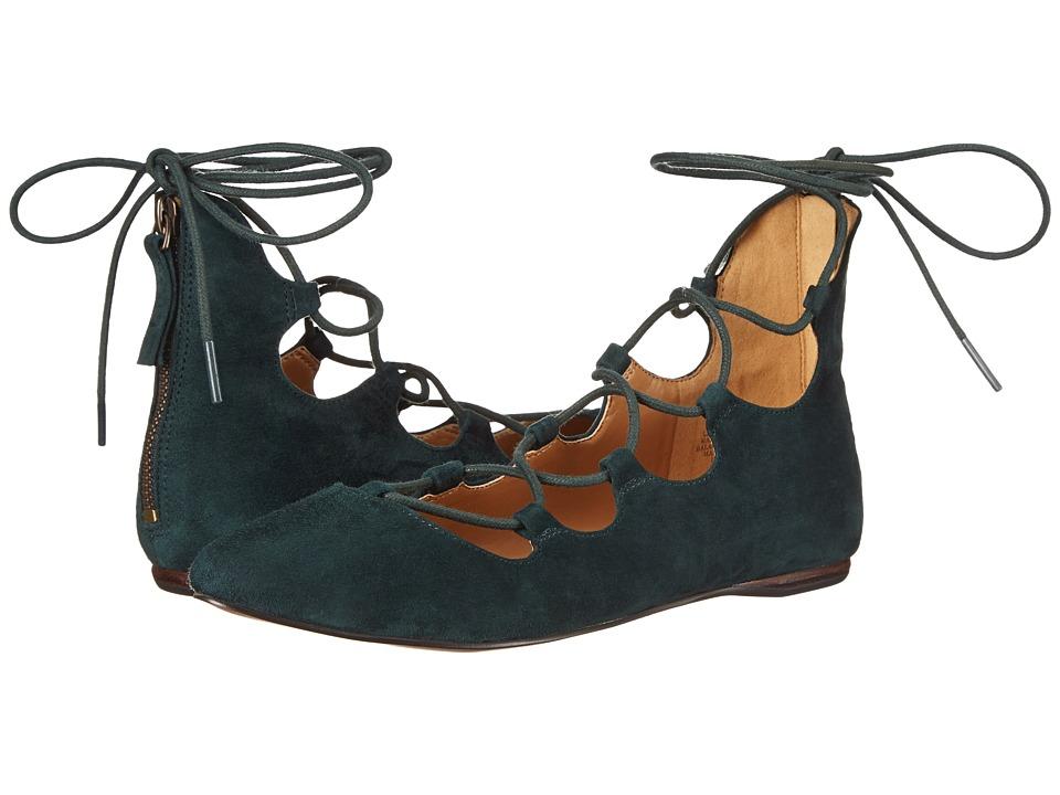 Nine West - Signmeup (Dark Green) Women's Flat Shoes