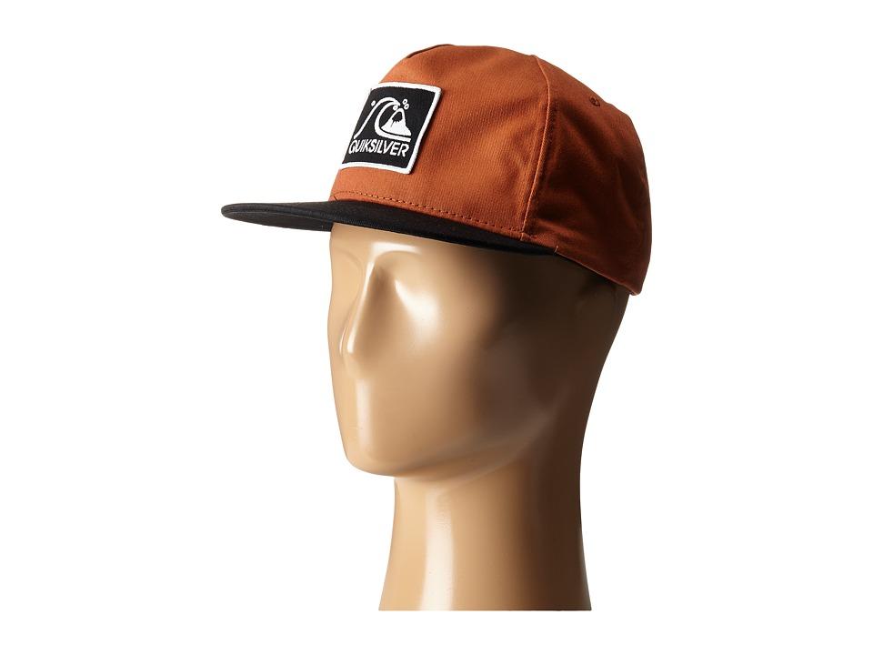 Quiksilver - Graf Snapback (Pumpkin Spice) Baseball Caps