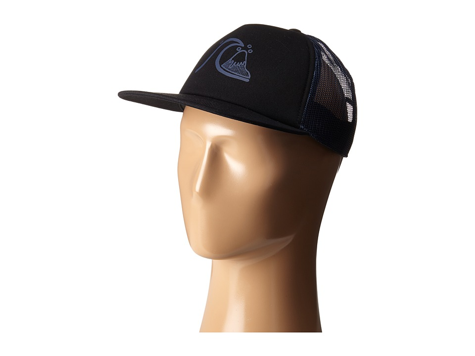 Quiksilver - The Trucker Hat (Dark Denim) Caps