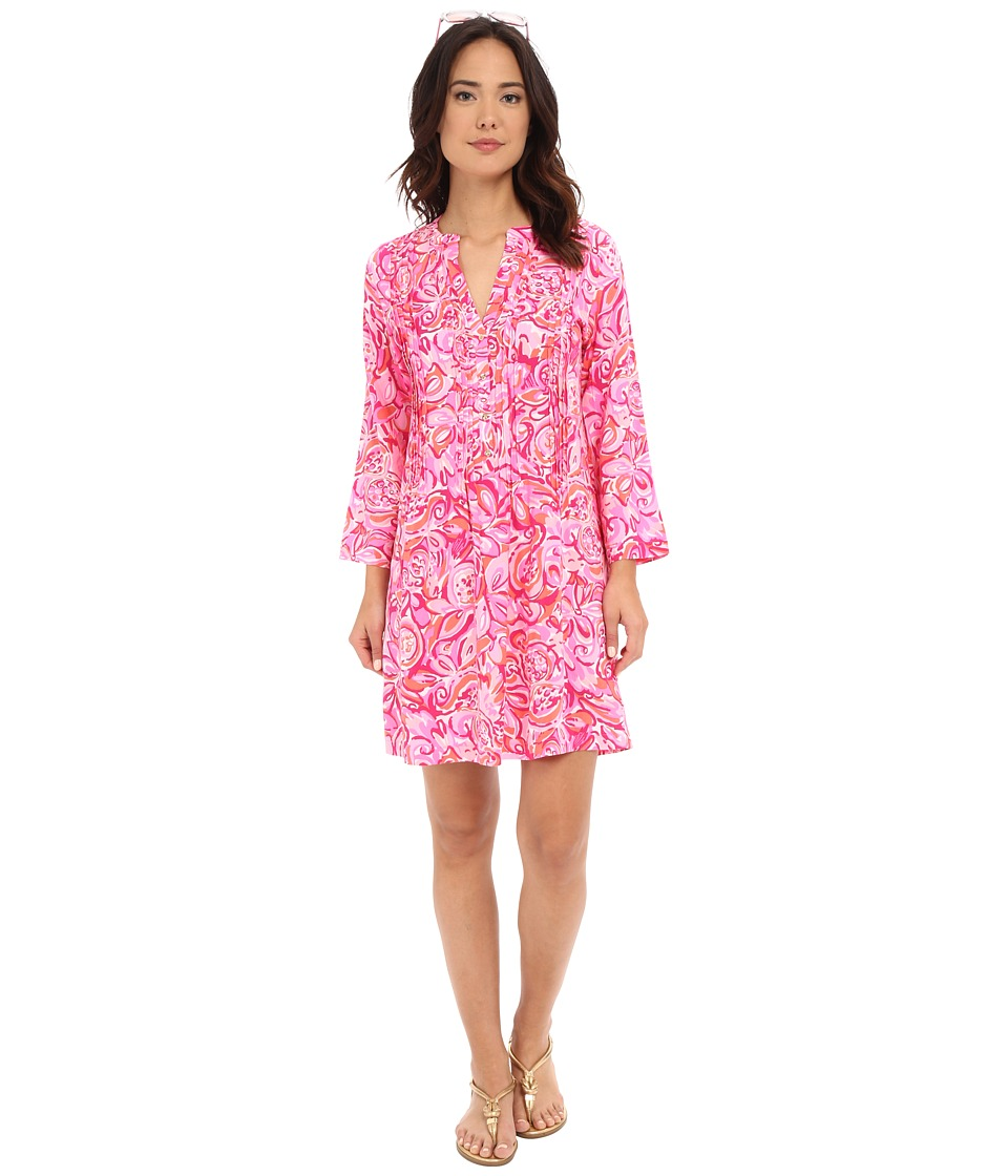 Lilly Pulitzer - Sarasota Tunic (Pink Pout Mango Salsa) Women's Dress