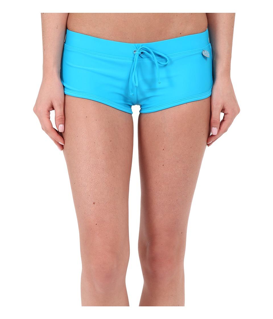 Body Glove - Smoothies Sidekick Sporty Swim Short (Ocean) Women's Swimwear