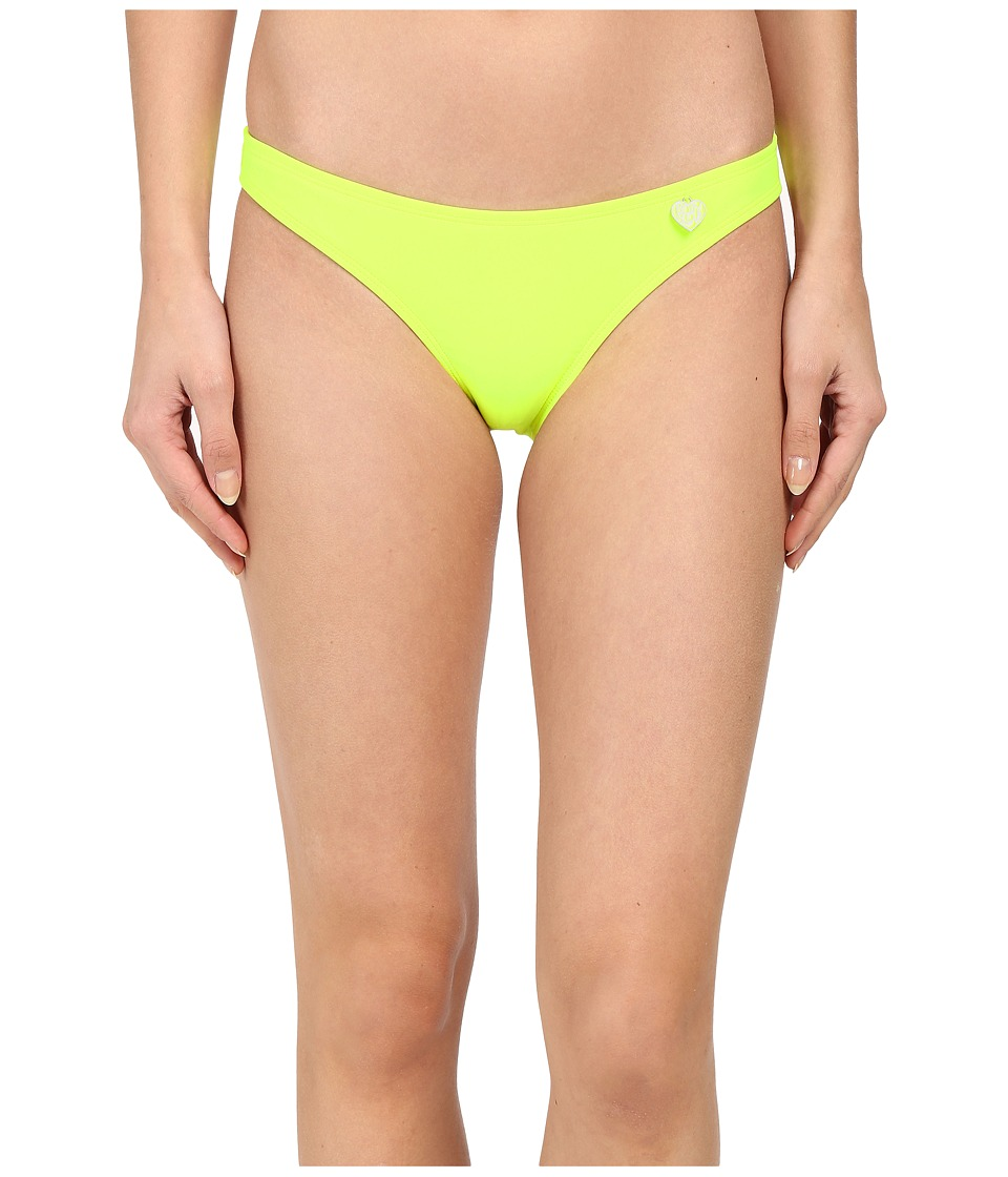 Body Glove - Smoothies Basic Bikini Bottom (Lime) Women's Swimwear
