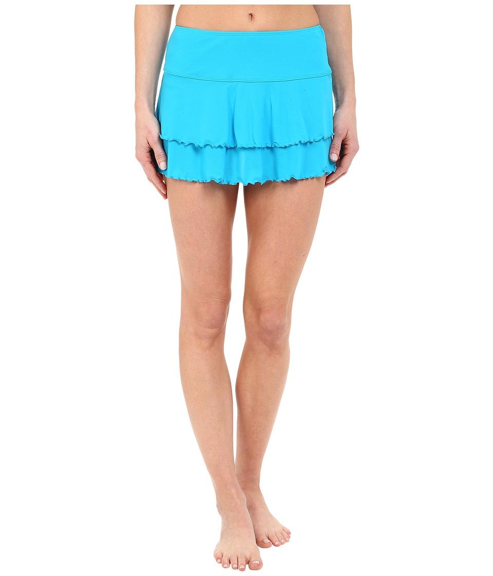 Body Glove - Smoothies Lambada Skirt (Ocean) Women's Swimwear