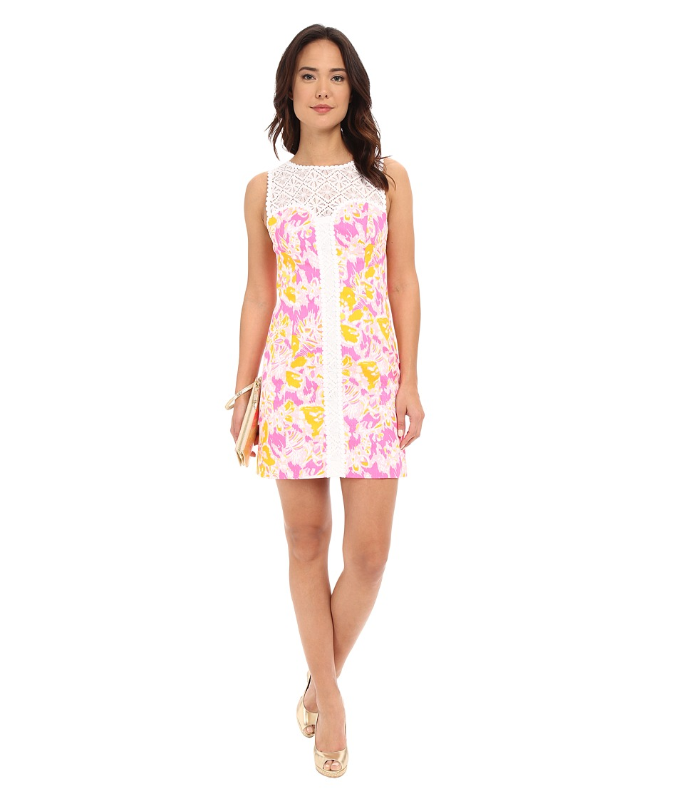 Lilly Pulitzer - Sofia Shift Dress (Kir Royal Pink Ooh La La) Women's Dress