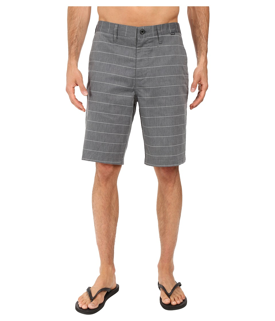 Hurley - Dri-Fit Porter Walkshorts (Black) Men's Shorts