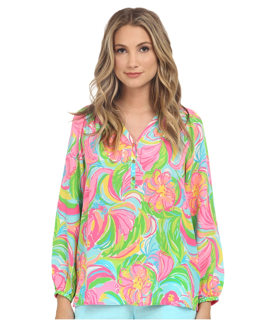 Lilly Pulitzer - Elsa Top (Multi So A Peeling) Women's Blouse