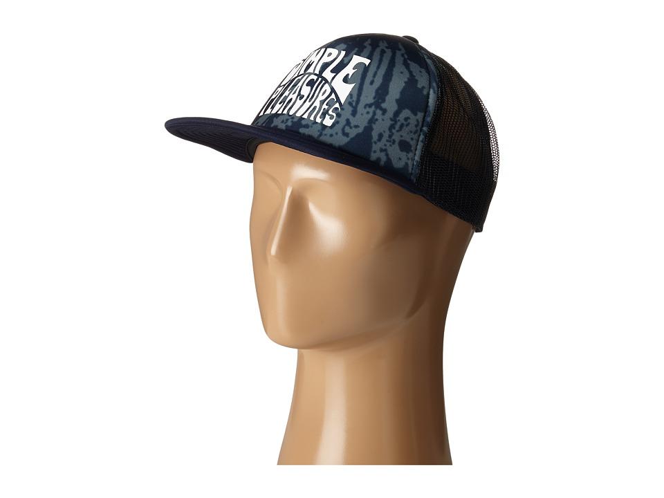 Quiksilver - Mixto Trucker Cap (Navy Blazer) Caps