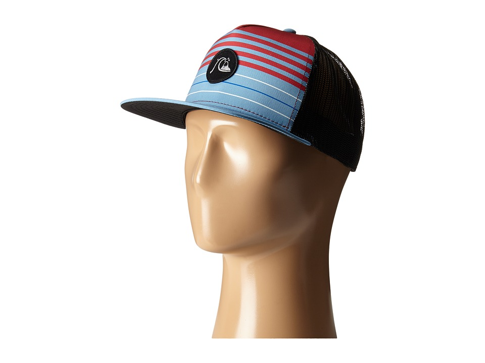 Quiksilver - Swelly Trucker Hat (Niagara) Caps