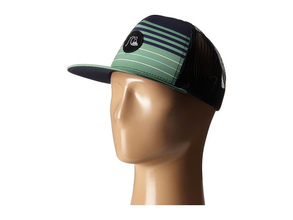 Quiksilver - Swelly Trucker Hat (Jadesheen) Caps