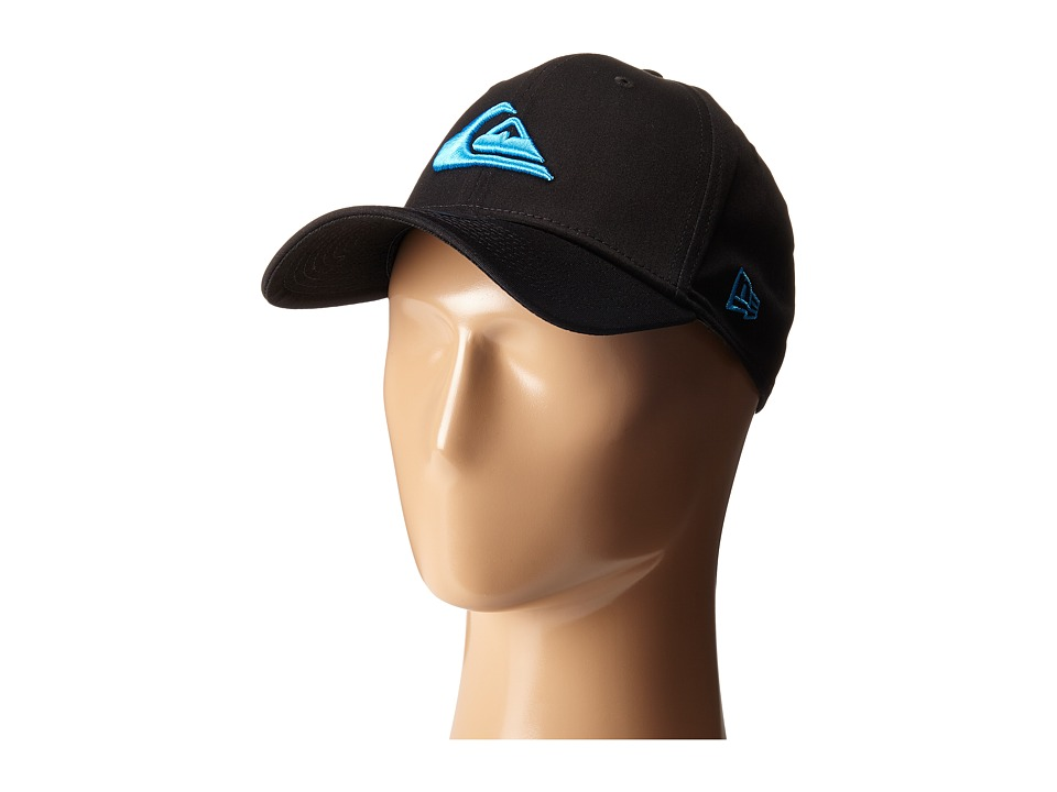 Quiksilver - Mountain Wave Black Hat (Neon Blue) Caps
