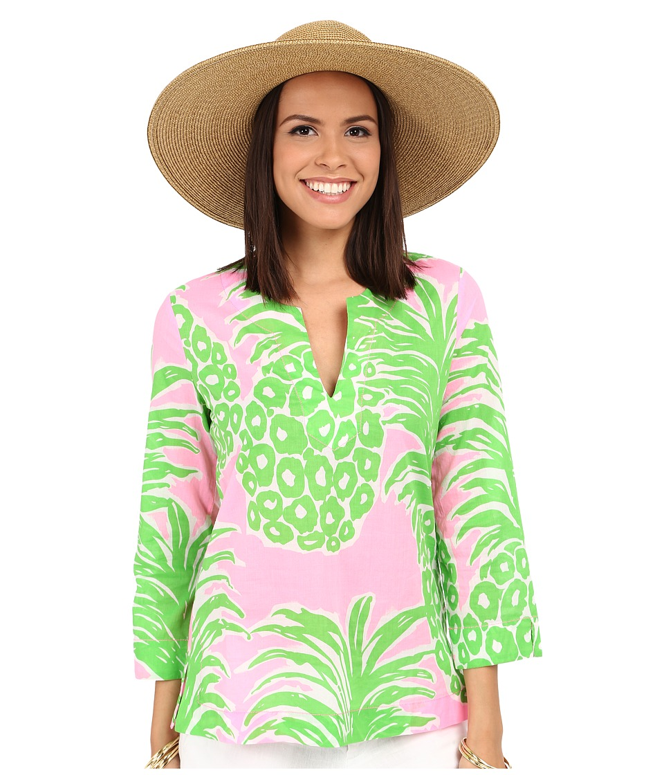 Lilly Pulitzer - Amelia Island Tunic (Pink Pout Flamenco) Women's Blouse