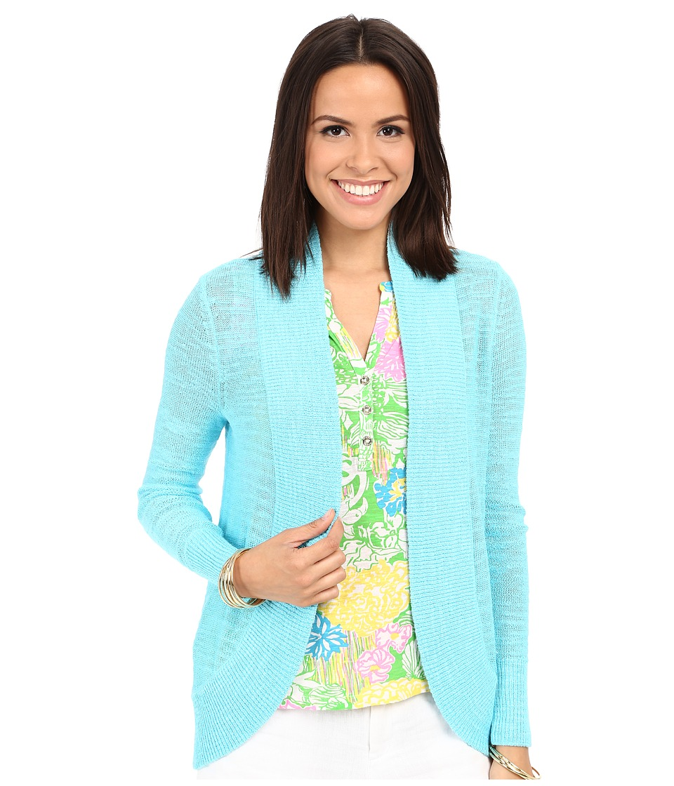 Lilly Pulitzer - Amalie Cardigan (Breakwater Blue) Women