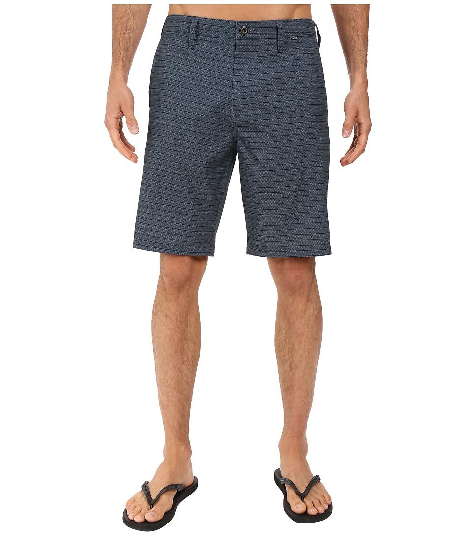 Hurley - Phantom Crestway Walkshorts (Black) Men's Shorts