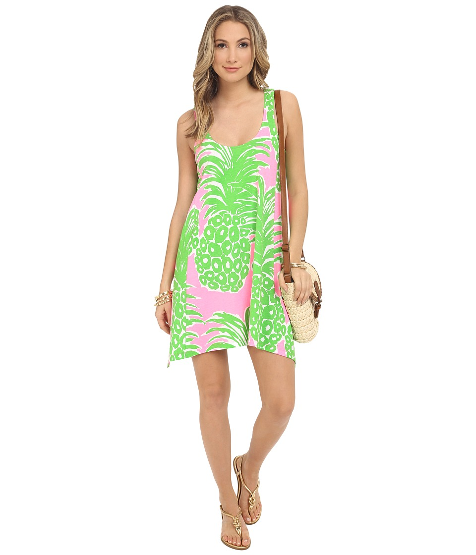 Lilly Pulitzer - Monterey Dress (Pink Pout Flamenco) Women's Dress