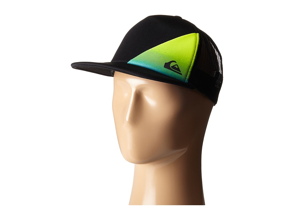Quiksilver - AG47 New Wave Trucker Hat (Black) Caps