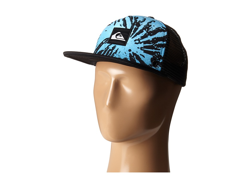Quiksilver - Boardies Trucker Hat (Glitched Hawaiian Ocean) Caps