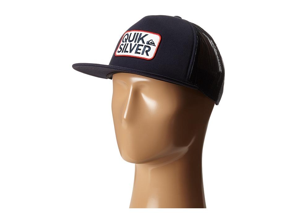 Quiksilver - Barstay Trucker Hat (Navy Blazer) Caps