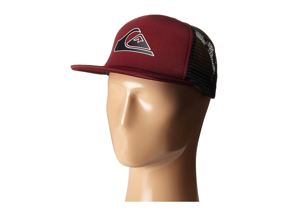 Quiksilver - Snapper Trucker Hat (Port) Caps