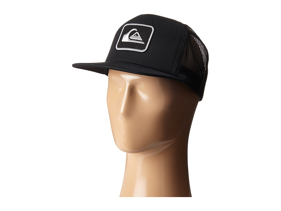 Quiksilver - Ropes Trucker Hat (Black) Caps