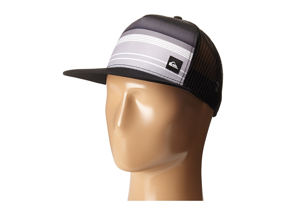 Quiksilver - Everyday Stripe Trucker (Black) Caps
