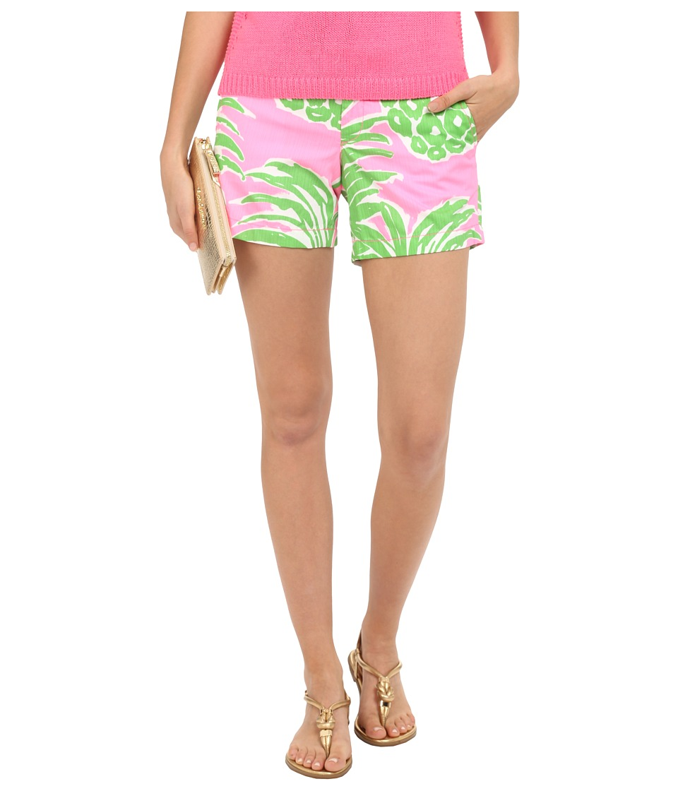 Lilly Pulitzer - Callahan Shorts (Pink Pout Flamenco) Women's Shorts