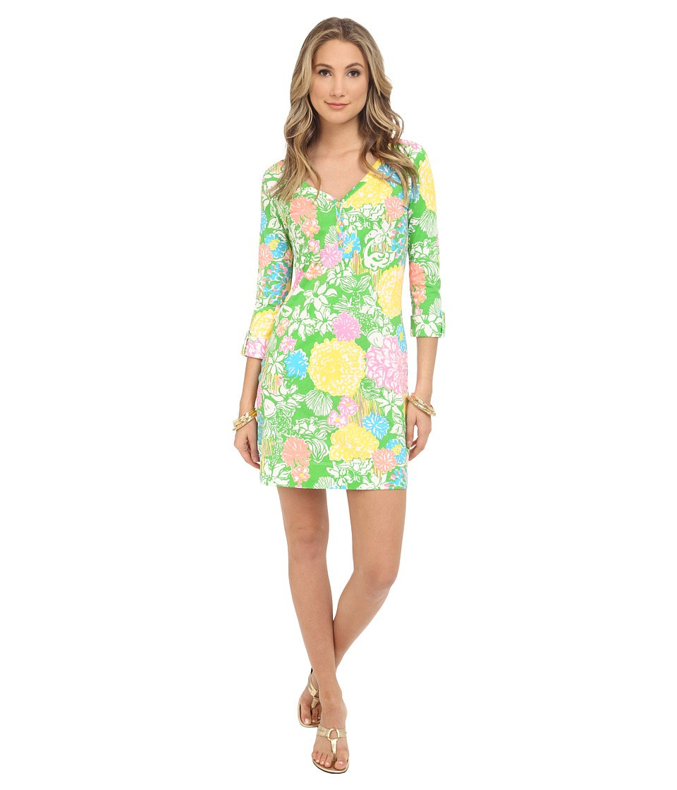 Lilly Pulitzer - Palmetto Dress (Multi Hibiscus Stroll) Women's Dress