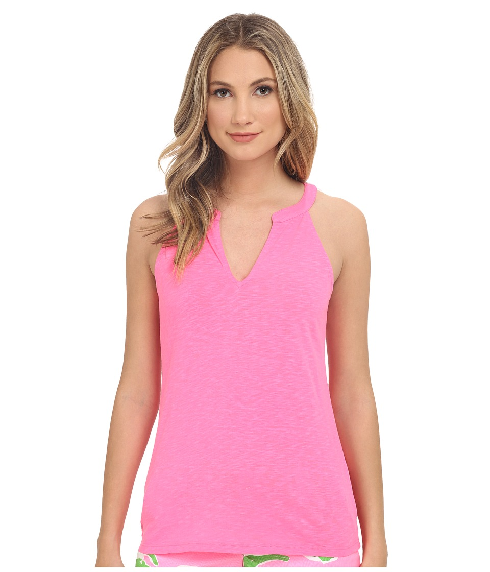 Lilly Pulitzer - Arya Tank Top (Flamingo Pink) Women's Sleeveless