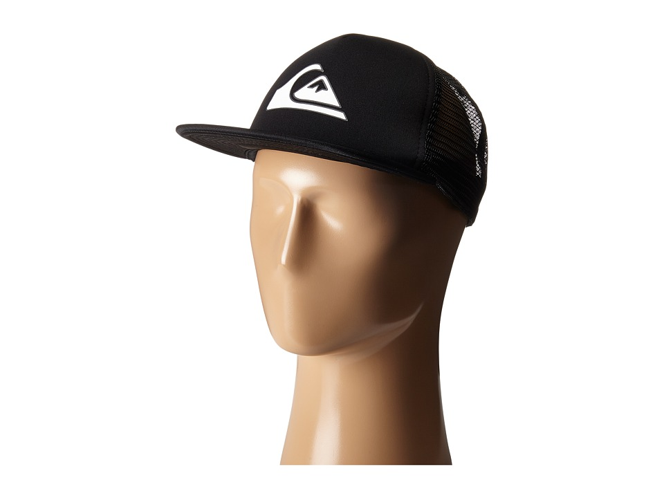 Quiksilver - Snapper Trucker Hat (Black) Caps