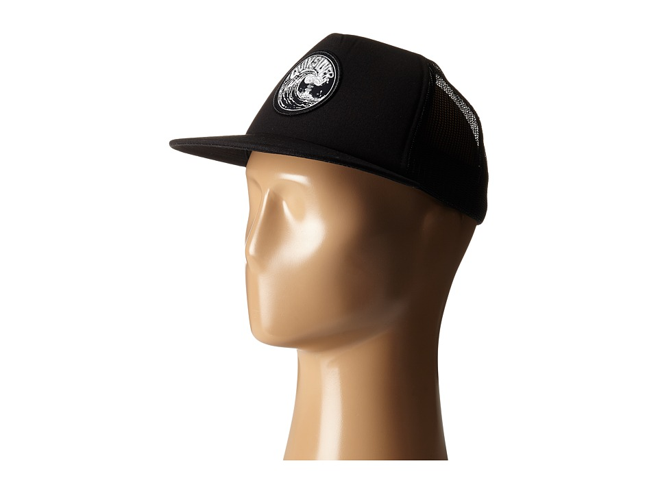Quiksilver - Fission Trucker Hat (Black) Caps