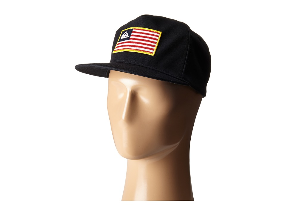 Quiksilver - Focused Snapback (Merican Stripe) Caps